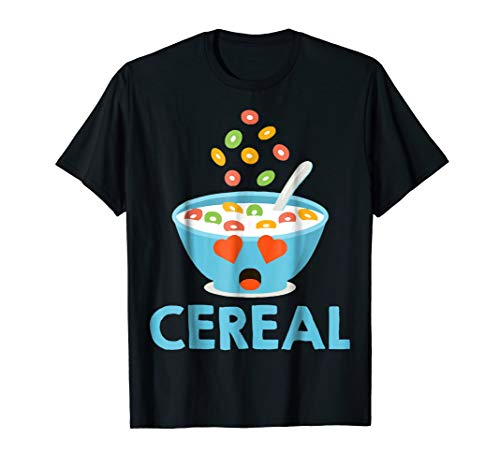 Cute Cereal _ Milk Couples Costume t-shirt lover cute gift