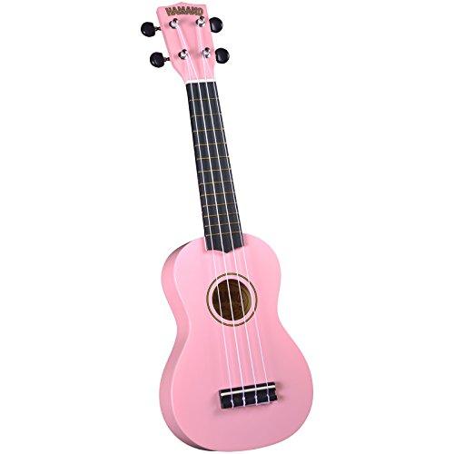 Best Pink Ukulele No.5: Hamano U-30PK Colorful Soprano Ukulele