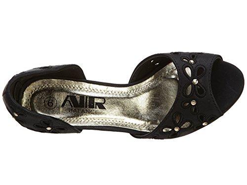 Air Balance Sandals Womens Black eYxnEvxydr