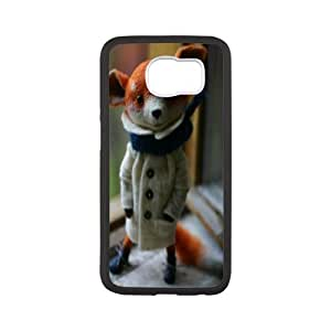 Doll Series, Samsung Galaxy S6 Case, Very Cute Fox Case for Samsung Galaxy S6 [White]