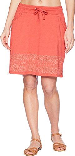 Toad&Co Women's Tica Skirt Rhubarb Border Print Large