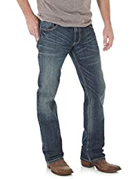 Men's Retro Slim Fit Boot Cut Jean