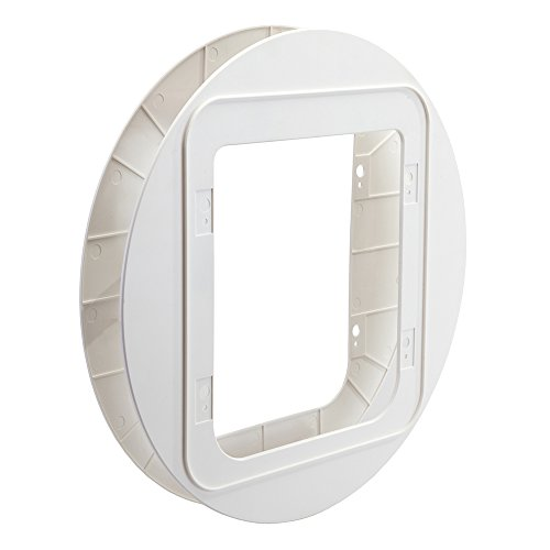 SureFlap Pet Door Dual Mounting Adapter in White by SureFlap