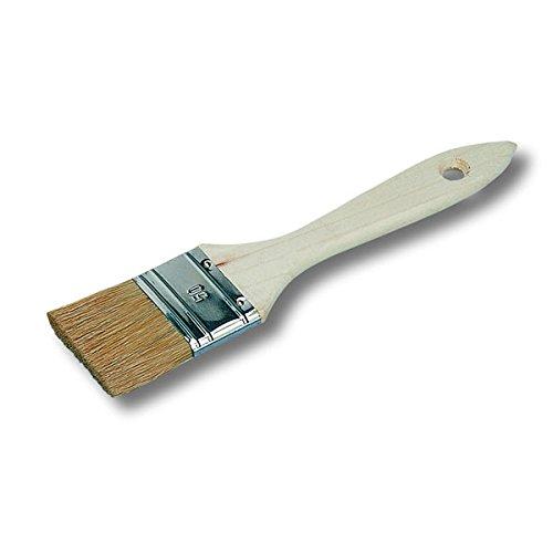 Pinceau plat larg: 8 cm (queue de morue) qualité professionnelle fait main made in france madeinfrance