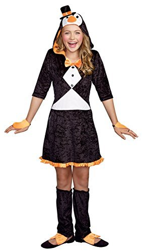 SugarSugar Girls Pretty Lil' Penguin Costume, One Color, Small, One Color, Small by (Pretty Lil Penguin Costumes For Girls)