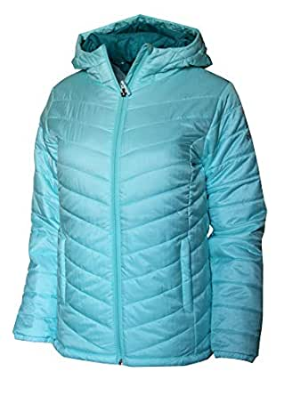 Columbia Youth Girls Morning Light Omni Heat Hooded Jacket