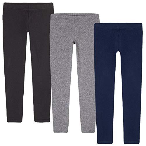 Price comparison product image KIDIK Basic Leggings 3PACK ((Black / Grey / Blue) M