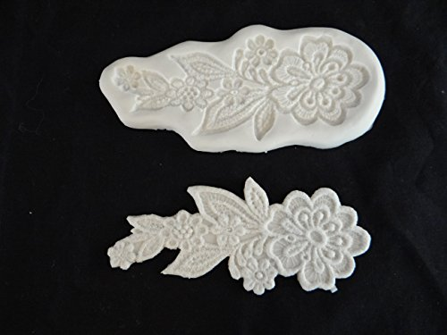 Lace Flowers Medallion Mold by CK by CK Products