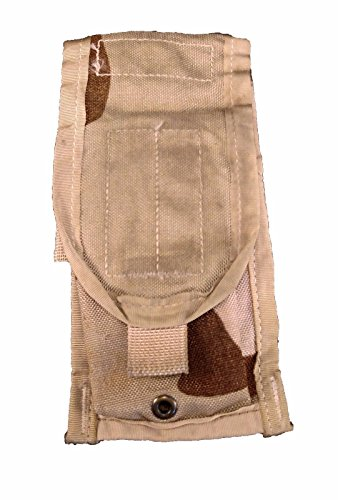 Good G2 M4 AR15 Double Mag Pouch Tri Color Desert Camo MOLLE 2x 5.56 Mags