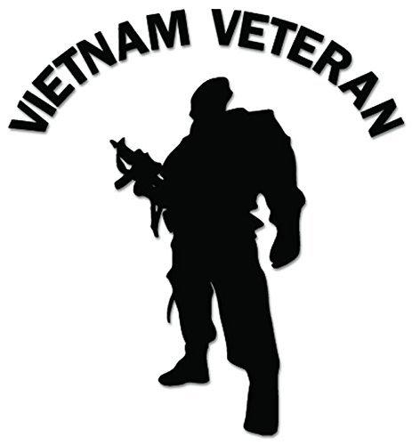 - YWS Vinyl Stickers Decals - Vietnam War Veteran Soldier - Stickers Laptop Car Truck Window Bumper Home Decor SMA2082