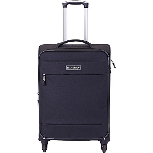Harley Davidson Night Rider Iii 21'' Casual Upright Carry-on Luggage, Black by Harley-Davidson