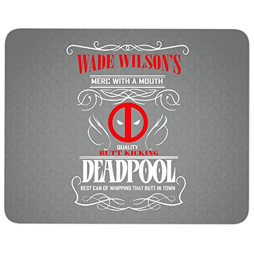 Funny Deadppol Premium-Textured Mouse pad, Wade Wilson's for sale  Delivered anywhere in USA