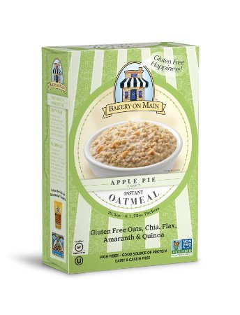 Bakery On Main Apple Pie Flavor Instant Oatmeal, 10.5 Ounce ( Case of 6 ) (Bakery On Main Oatmeal Apple Pie)