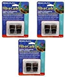 Penn Plax Filt-A-Carb for Multi-Pore and Undergravel E Filters- 6 Total (3 Packs with 2 per pack) Larger Image