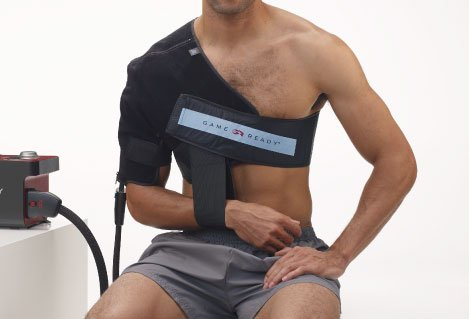 Game Ready Wrap - Upper Extremity - Right Shoulder - Medium (33-45'' chest) by game