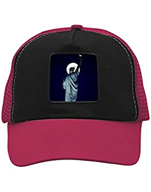 Unisex Moon Statue of Liberty Lady Liberty Adjustable Classic Hiphop Hat Baseball Cap Snapback Dad Hat