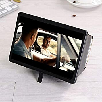 MAYouth 3D-Lupe Versenkbarer Verst/ärker Handy-Bildschirm HD-Lupe Universal Handy-Bildschirmlupe