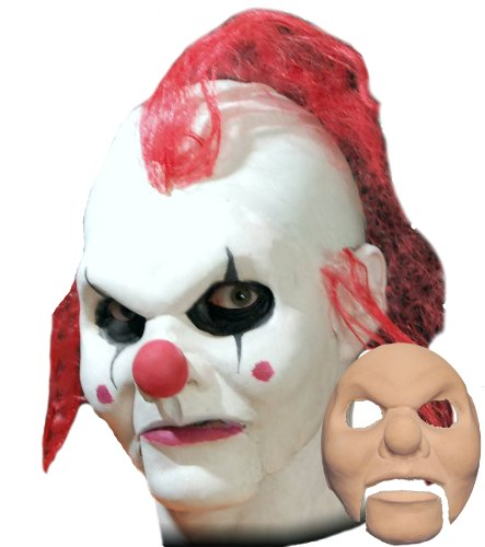 Clown Foam Latex Face (Prosthetic Clown Costume)