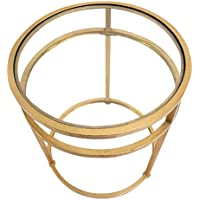 Teton Home AF-118 Minimalist Coffee Table, Gold