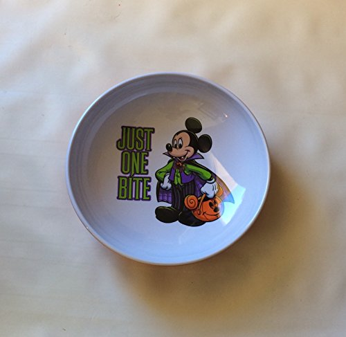 (Authentic Disney Parks Mickey Mouse Vampire Halloween Candy Bowl Just One)