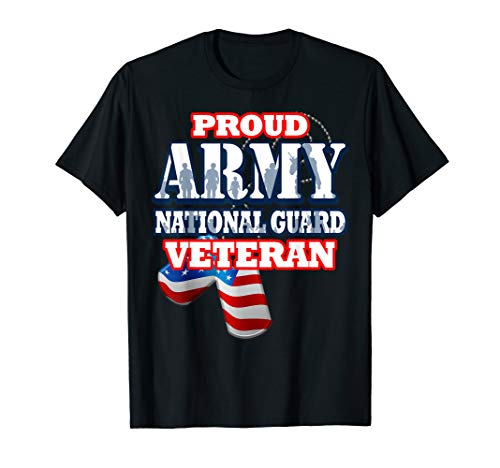 (USA Proud Army National Guard Veteran Shirt Men Women)