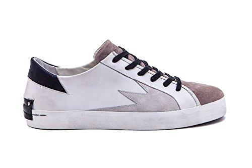 Crime London Sneakers Uomo 11304ks110 Pelle Bianco