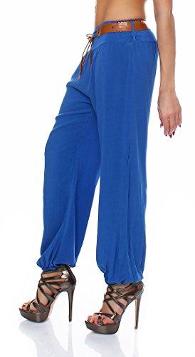 Style Taille À Chaussures Italy Multicolore Femme Bleu Unique Roi Talons Pantalon H6wqq7