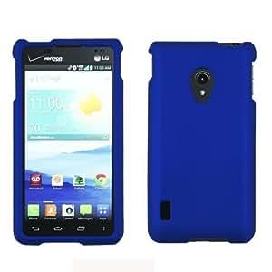 [ManiaGear] Blue Rubberized Shield Hard Case for LG Lucid 2 Vs870 (Verizon)