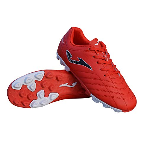- Joma Kids' Toledo JR MD 24 Outdoor Soccer Shoes (8 M US Toddler, Red)