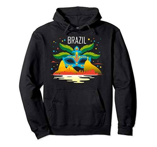 sunset carnival mask carnaval rio de janeiro brazil t-shirt