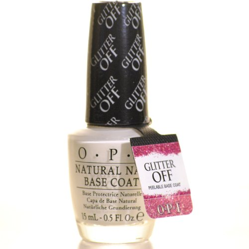 BPR Glitter hors Peel-Able Base Coat, 0,5 once