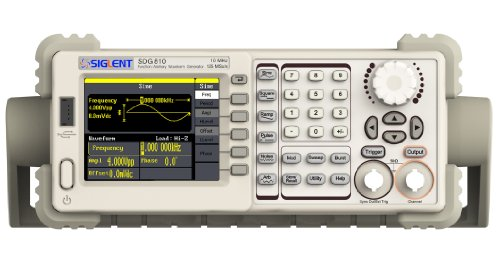 - Siglent Technologies SDG810 Siglent Single Channel 10 mhz Bandwidth Signal Generator, Function Generator, Arbitrary Waveform Generator, 125 MSa/s Sampling Rate