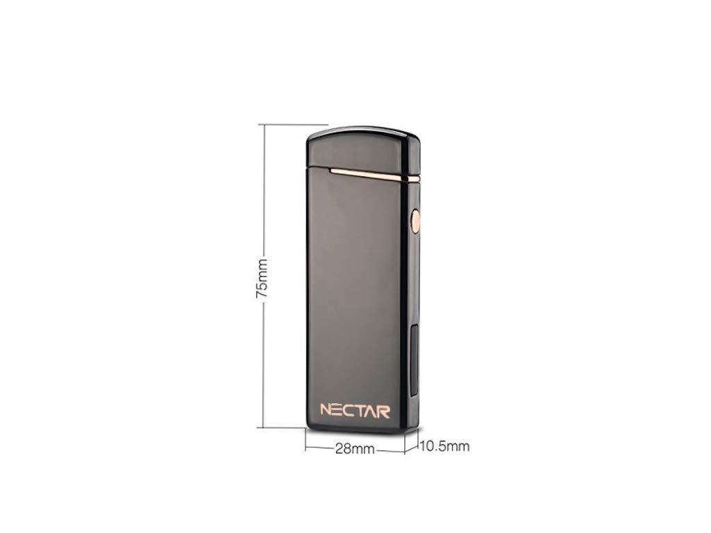 para Exteriores Resistente al Viento Nectar The Hornet by Double ARC Lighter Mechero de Plasma el/éctrico Recargable