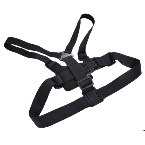 Signpost Adjustable Head Strap Mount & Chest Belt Strap Mount for Gopro HD Hero Hero 2 Hero 3 Cameras Black