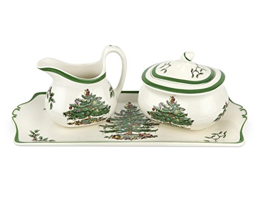 - Spode Christmas Tree 3-Piece Serving Set