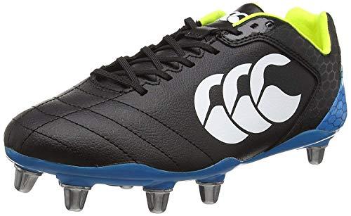(Canterbury Stampede Club 8 Stud Rugby Boots - 11 - Black)
