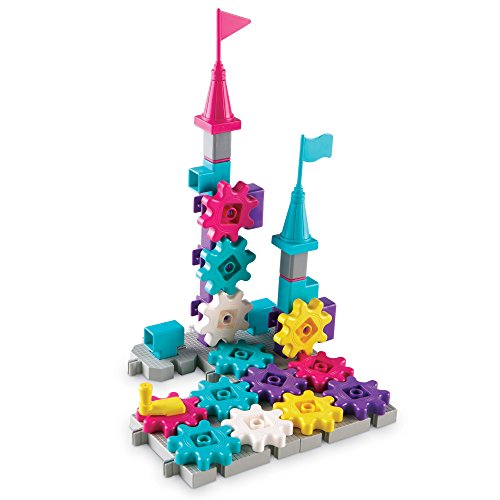 Learning Resources Gears  Gears  Gears  Castle Gears  38 Pieces