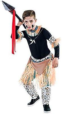 Disfraz de Guerrero Zulú para niño: Amazon.es: Juguetes y juegos