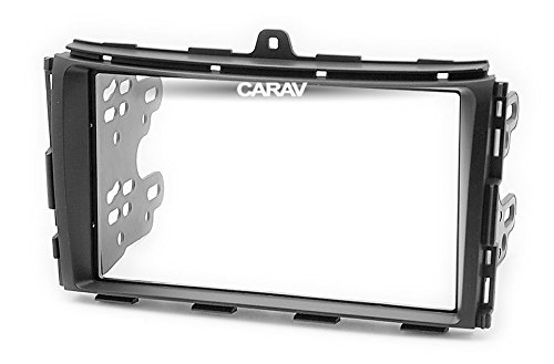 Carav 11-707 Car Stereo Radio installation frame Double Din in Dash Facia Fascia Kit for GEELY Emgrand EC7 2014-2016,Emgrand 7 2016+ with 17398mm/178100mm/178102mm by CARAV