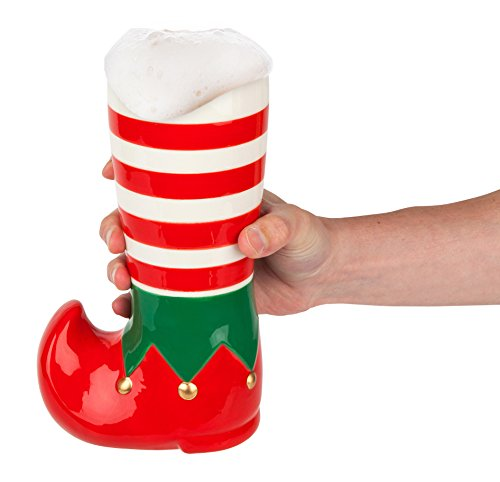 BigMouth Inc Santa's Little Helper Elf Beer Boot