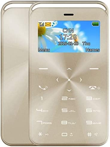 Yonis Mini Teléfono Móvil Teclado QWERTY FM Alarma MP3 Calendario ...