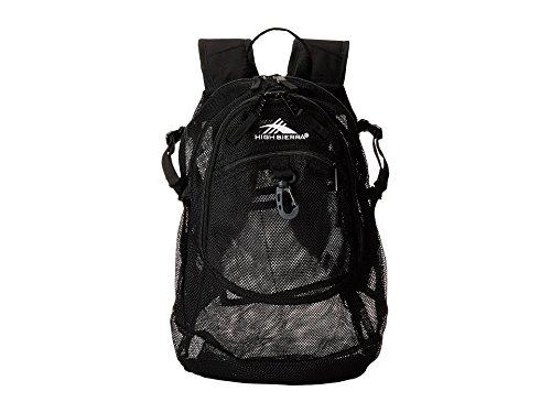High Sierra Airhead Mesh Backpack, Black