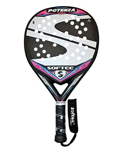 Softee 0013923 Pala Padel Potenza, Blanco, S: Amazon.es: Deportes ...