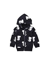 Baby Boy Girl Cartoon Dinosaur Hoodie Sweatshirts Infant Toddler Zip Hooded Tops