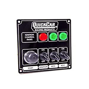 QuickCar 50-825 Dash Mount Car Switch Panel