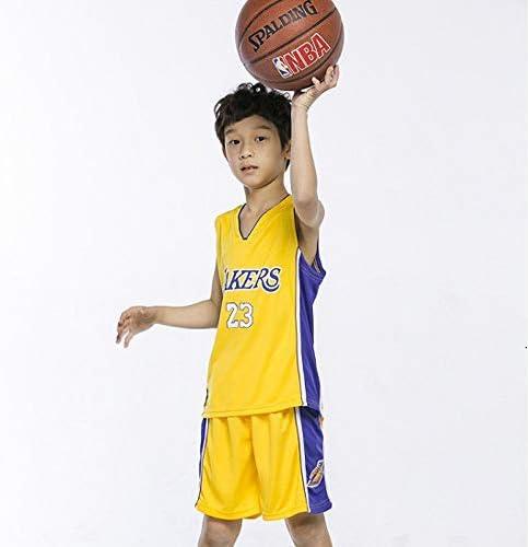 unbrand Erwachsene Cleveland Cavaliers Lebron James # 23 Basketball Shorts Sommer Trikots Basketball Uniform Top /& Short