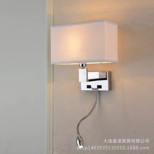 Modern Led Wall Lights Bedroom Wall Lights The Hotel Bed Stainless Steel Wall Lights Amazon Co Uk Lighting