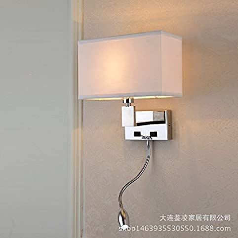 amazon uk bedroom wall lights. modern led wall lights, bedroom the hotel bed stainless steel lights amazon uk f