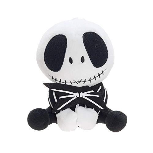 The Nightmare Before Christma Jack Skeleton Halloween Cartoon Movie Soft Plush Stuffed Animals Toys -