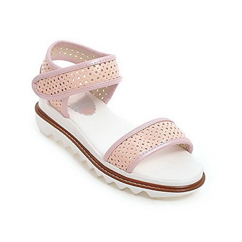 AdeeSu Womens Dress Cold Lining Herringbone Urethane Sandals SLC03982 Pink